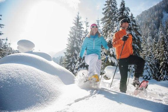 Schneeschuhwandern – Ferienwohnungen Eckart in Altenmarkt-Zauchensee