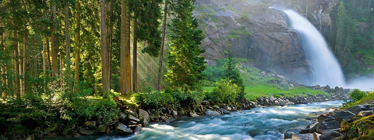 Krimmler Wasserfälle –Tagesausflüge in Ihrem Sommerurlaub und Winterurlaub in Altenmarkt im Pongau, Salzburger Land